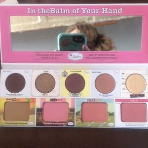 In the Balm of your hand great pallet.
